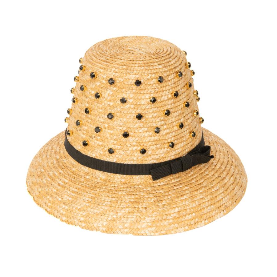 CAROL ALL BLACK CITY HAT - EXCLUSIVE
