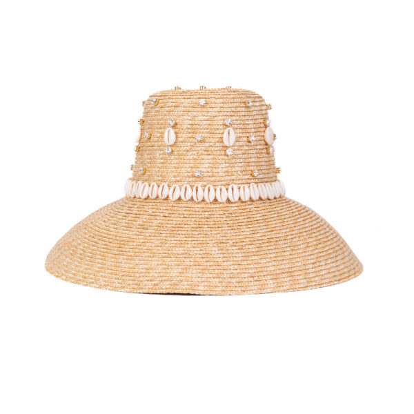 CAROL RINGSHELLS NATURAL HAT