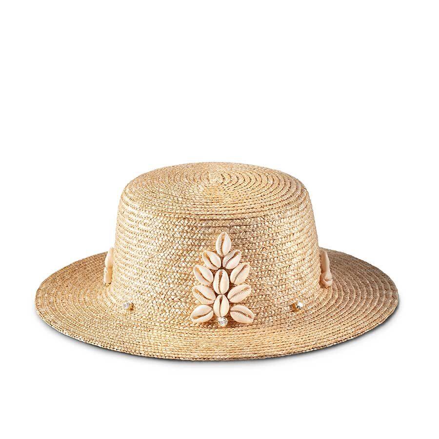 BUD NATURAL BOATER HAT